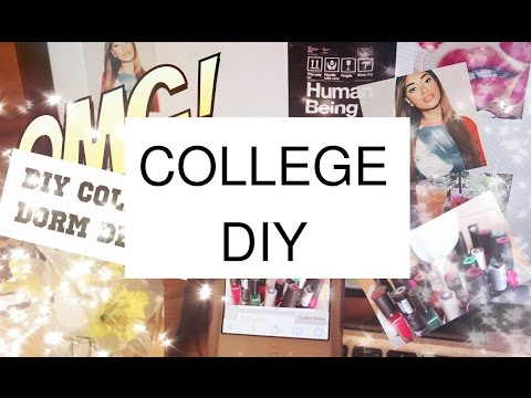 Inexpensive DIY College Dorm Decor Stuff