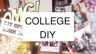 Inexpensive DIY College Dorm Decor Stuff Thumbnail