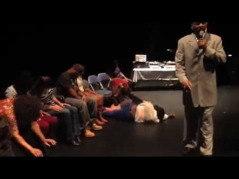 Lenny Moore Hypnotizes Augusta Ga Part 1