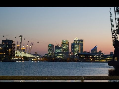 [Full HD] Part 1 Emirates Air Line London Cable Car Royal Docks to Greenwich Peninsula