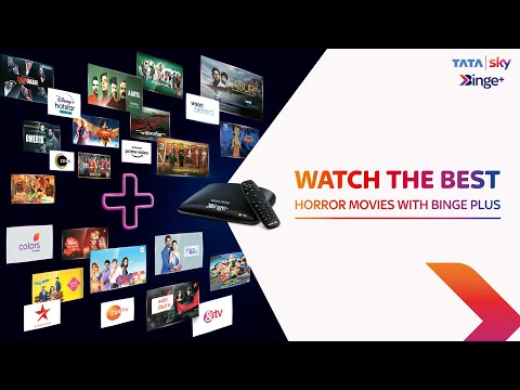 Tata Sky Binge Plus | Watch the best horror movies with Binge plus