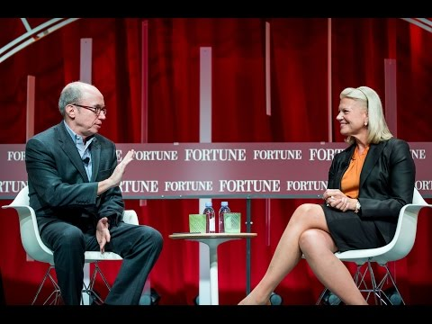 IBM CEO Ginni Rometty Talks About Artificial Intelligence   Fortunes Most Powerful Women