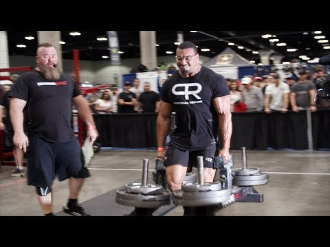 MY FIRST STRONGMAN COMPETITION LARRYWHEELS