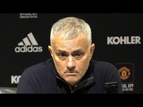 Manchester United 0-0 Crystal Palace - Jose Mourinho Post Match Press Conference - Premier League