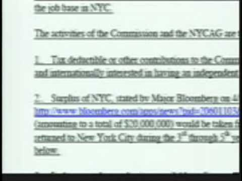 NYC 9/11 Ballot Initiative WITH City Attorney General