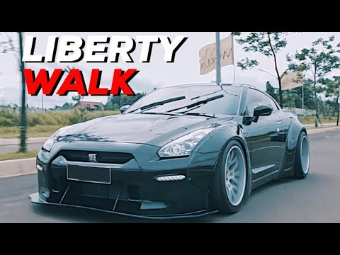 NISSAN GTR R35 LIBERTY WALK INDONESIA | CARVLOG 040 (INDONES