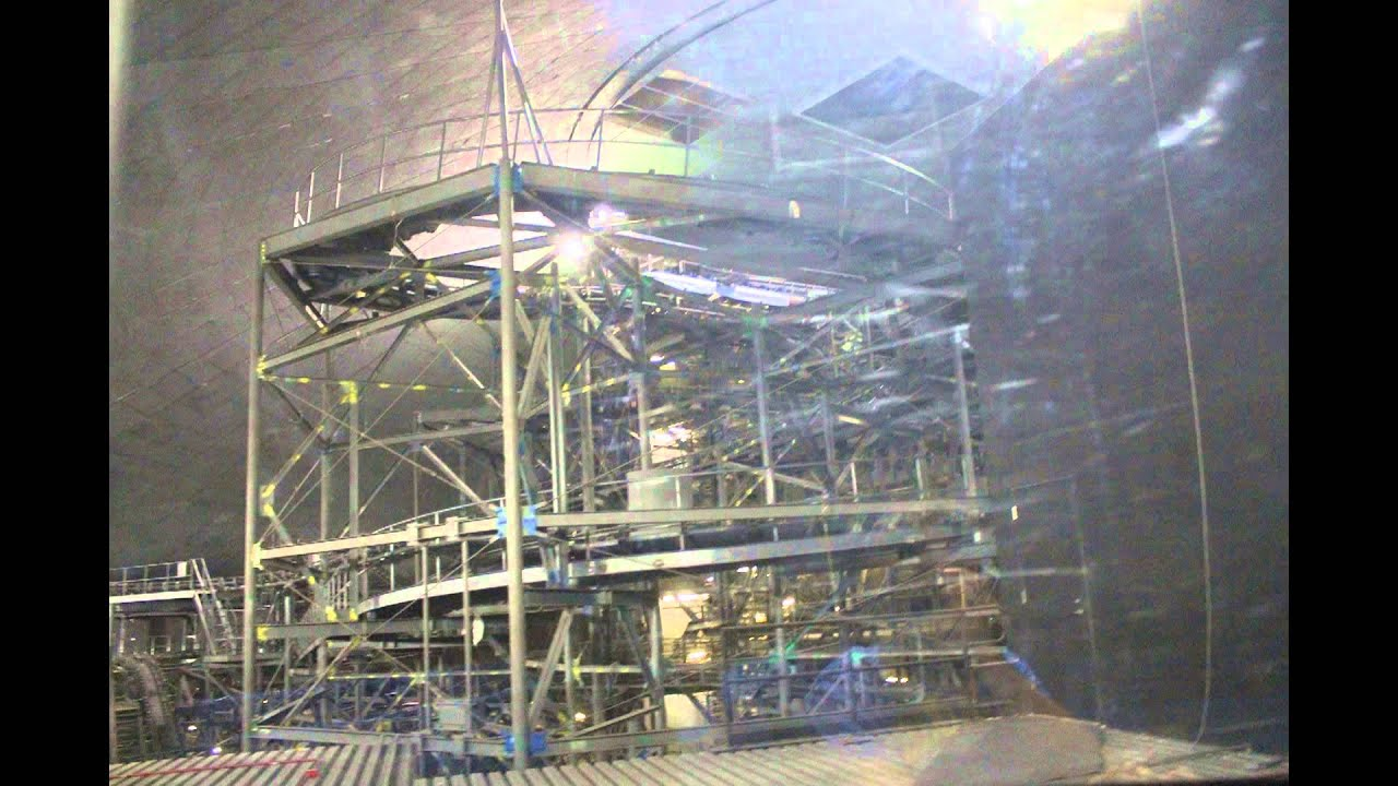 Space Mountain with lights on at the Magic Kingdom - Walt ...