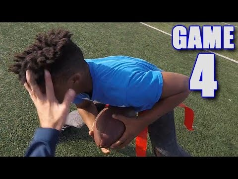 GABE IS CARRIED OFF THE FIELD! | On-Season Football Series | Game 4