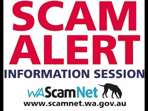 Scam Alert - Information session