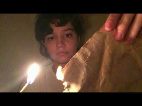 ASMR~ Burning the Library of Alexandria