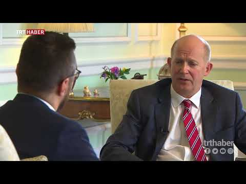 İngiltere'nin Ankara Büyükelçisi Dominick Chilcott ilk röportajını TRT Haber'e verdi.