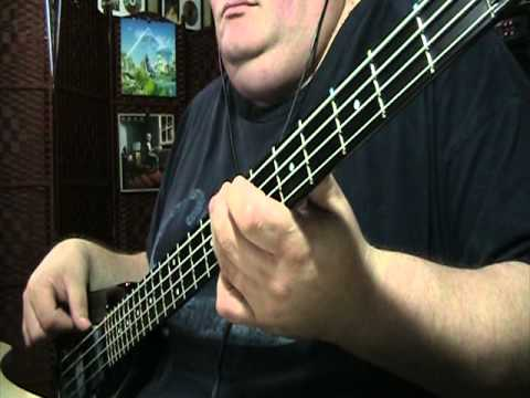 Journey Separate Ways Bass Cover with Notes & Tablature