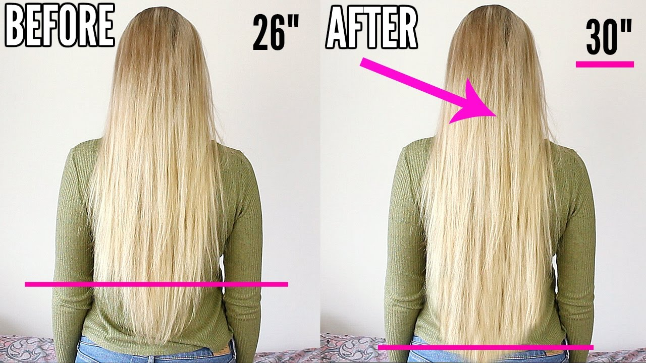 How To Grow Your Hair Fast Overnight Youtube