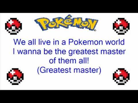 Pokemon Orange Islands: Pokemon World Theme Song + Lyrics