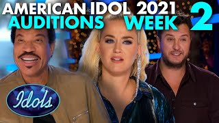 AMERICAN IDOL 2021 AUDITIONS WEEK 2 | Idols Global