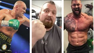 'I'LL KNOCK YOU THE F*** OUT!' - 'BEAST' EDDIE HALL RIPS 'MOUNTAIN' THOR ON WANTING TYSON FURY FIGHT