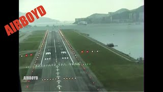 Landing At Hong Kong Kai Tak 20 Years Ago - IGS 13