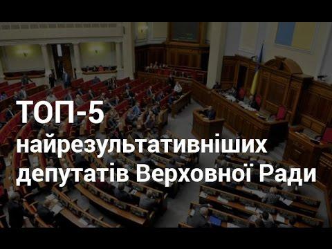 Буковинські мажоритарники у ТОП-5 найрезультативніших депутатів ВР