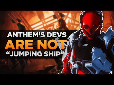 "Anthem Update | BioWare Devs ARE NOT ""Jumping Ship"""