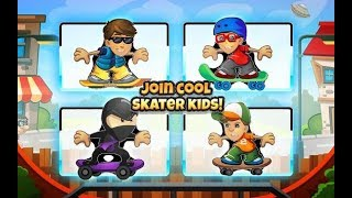 Skater Boys Skateboard Racing Games - Tiny Lab  Android Gameplay Video 2
