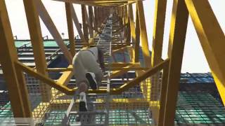 GTA 5 Jumping off the highest building