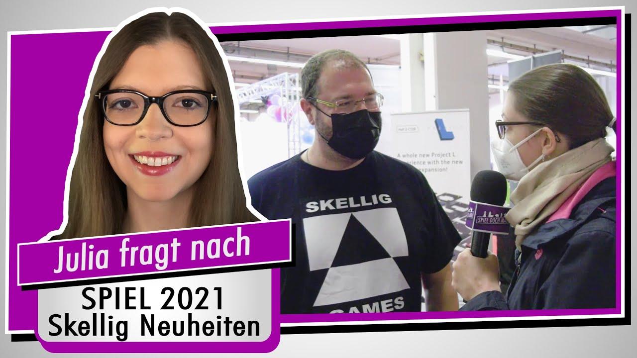 SPIEL 21 - Skellig auf der Neuheitenschau -Geschäftsführer Uwe Bursik im Interview - Spiel doch mal!