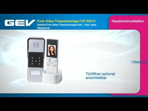 GEV Funk-Video-Türsprechanlage CVF 86012