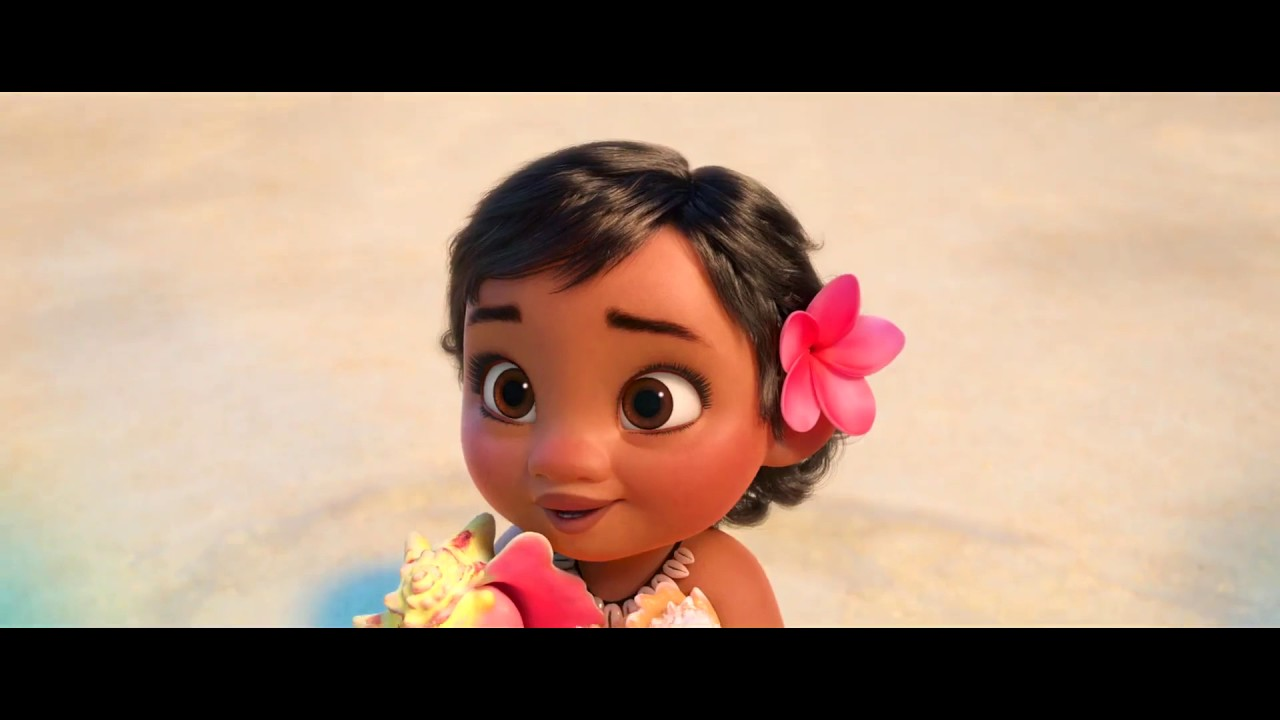 Moana Gets Chosen By the Sea