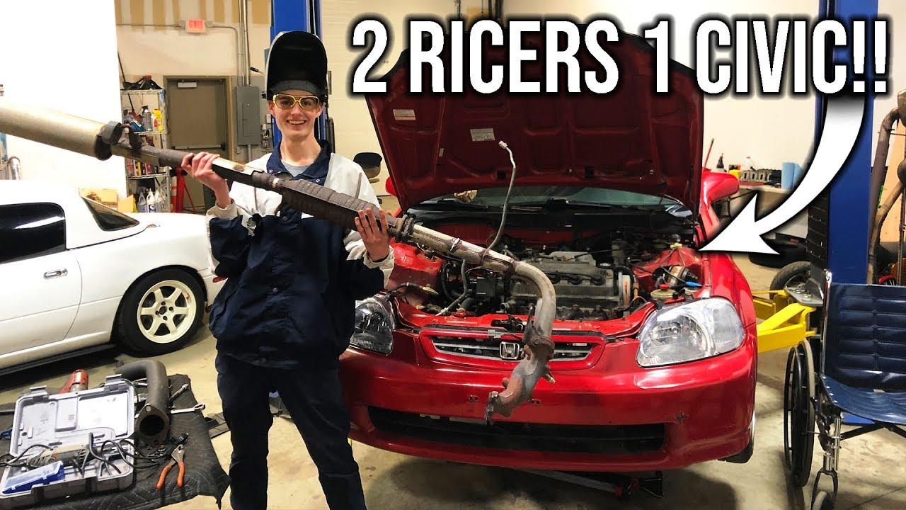 ricer-civic-tear-down