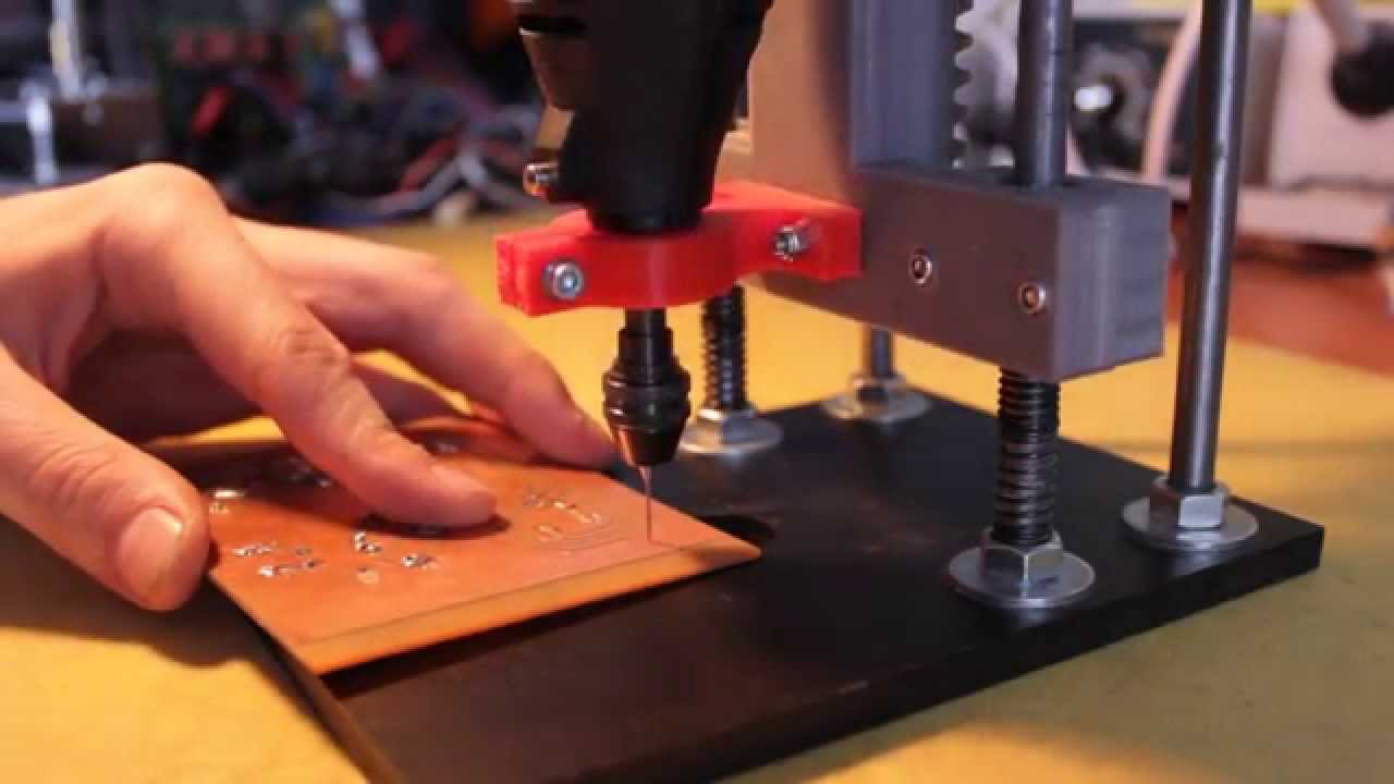 Drill Press For Dremel