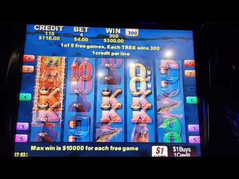 THE STAR Sydney - Pokies - Big Red 2 - 17 July 2017 - Big Win $300 Tree