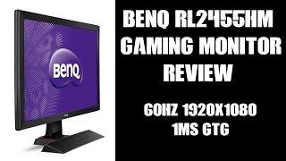 benq rl2455hm 24 console gaming monitor review 60hz 1920x1080 1ms gtg