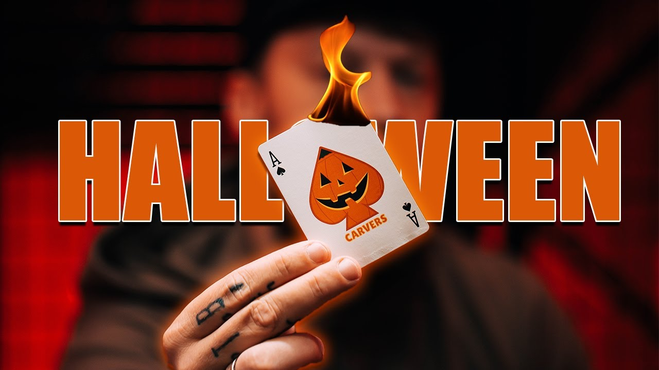 Learn The ULTIMATE Halloween Card Trick!