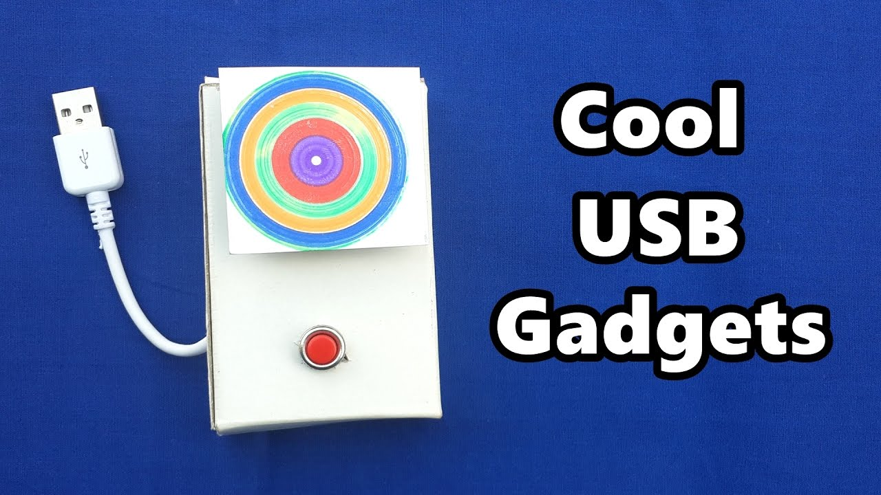 4 cool usb gadgets you can make at home diy tutorials for Cool gadgets to make at home