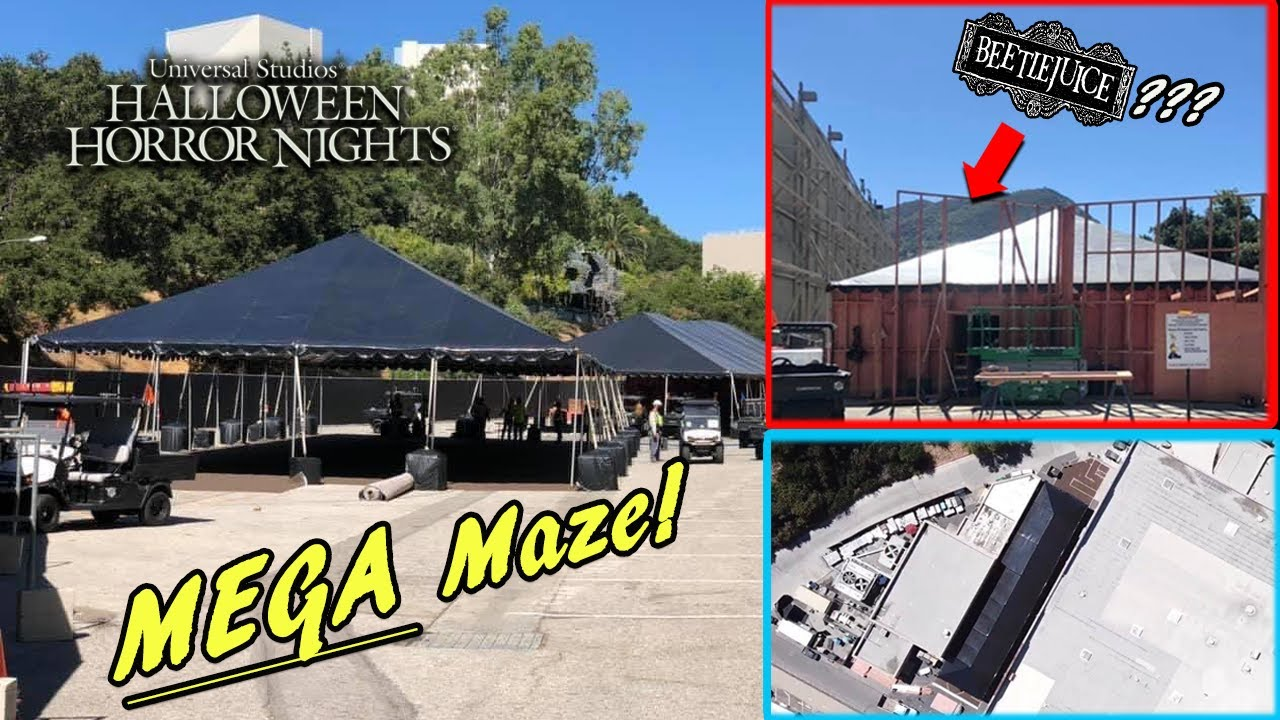 Halloween Horror Nights 2020 Brochure MEGA Maze Coming to HHN 2020!?   Halloween Horror Nights