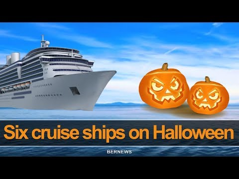 Six Cruise Ships Scheduled For Halloween, Oct 2018
