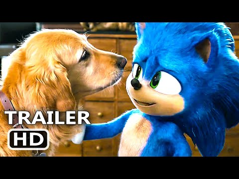 SONIC THE HEDGEHOG Trailer # 2 (NEW 2020) Jim Carrey, Family Movie