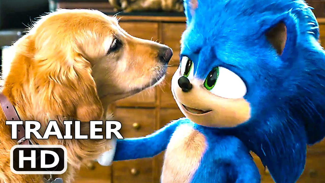 Sonic The Hedgehog Trailer 2 New 2020 Jim Carrey Family Movie Youtube