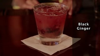 Black Ginger Cocktail Recipe - How To Make The Black Ginger