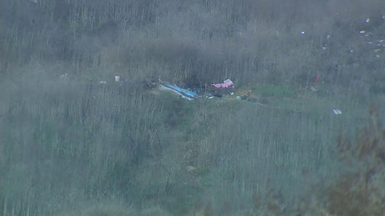 MAMBA: Kobe Bryant Helicopter Crash Scene - Calabasas, California - FOX 10 Phoenix