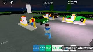 Simulador de estación gaz w Roblox