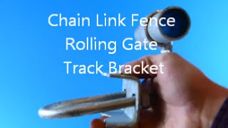 Chain Link Fence Rolling Gate Track Bracket