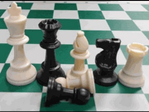 Beginning Chess-1---How to move the pieces--Piece set-up