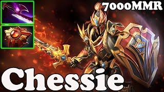 Dota 2 - Chessie 7000 MMR Plays Dragon knight - Pub Match Gameplay