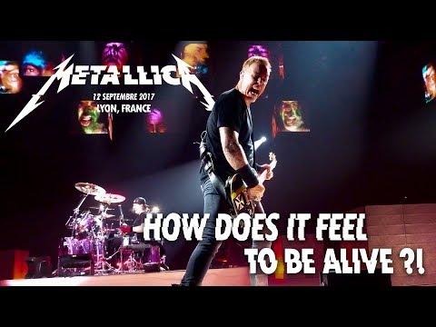 Metallica - full show in lyon, 12 september 2017 (multi-cam - hq sound livemet.com)