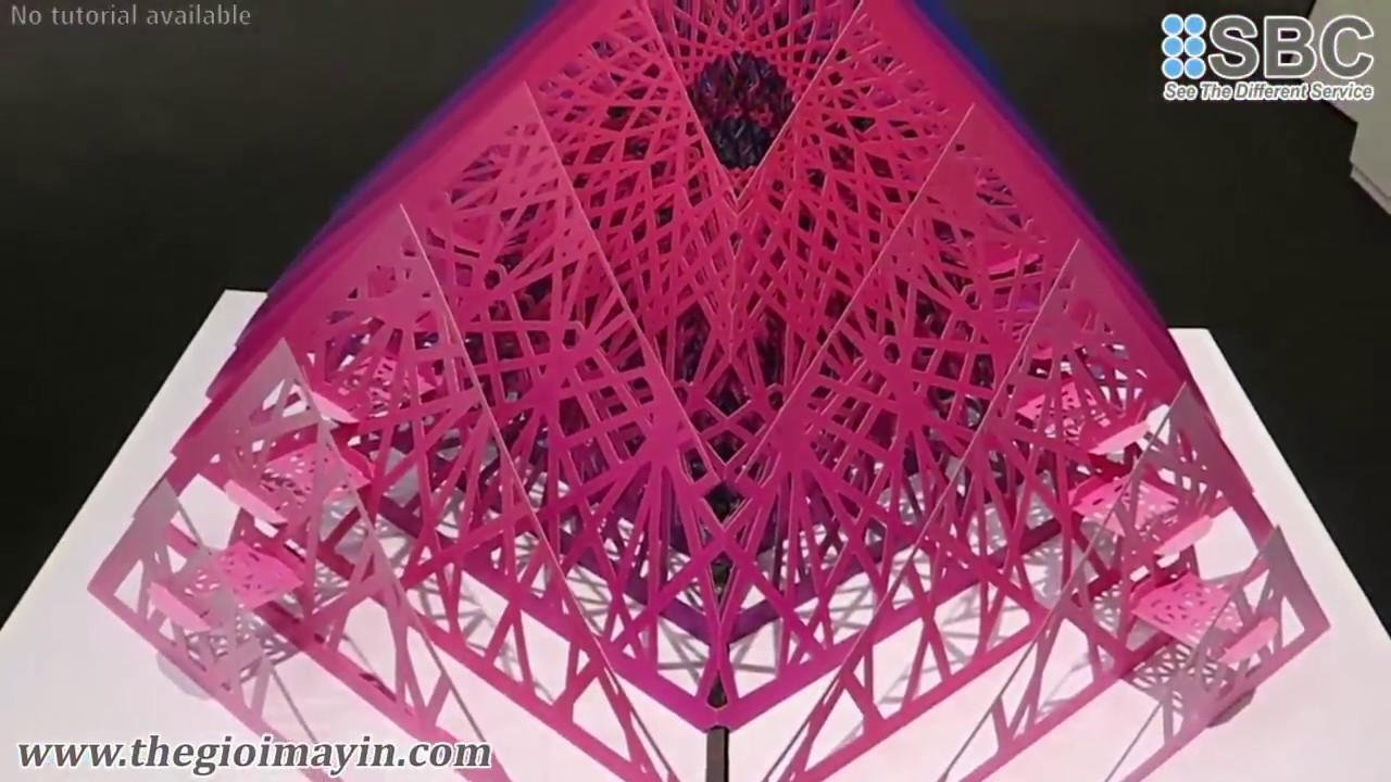 Máy cắt phẳng JWEI LS – Thiệp 3D, mô hình giấy,  decal, giấy mỹ thuật, bìa cứng, logo sticker