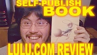 Lulu US Trade Paperback 6x9 Self-Publish Book Proof Review