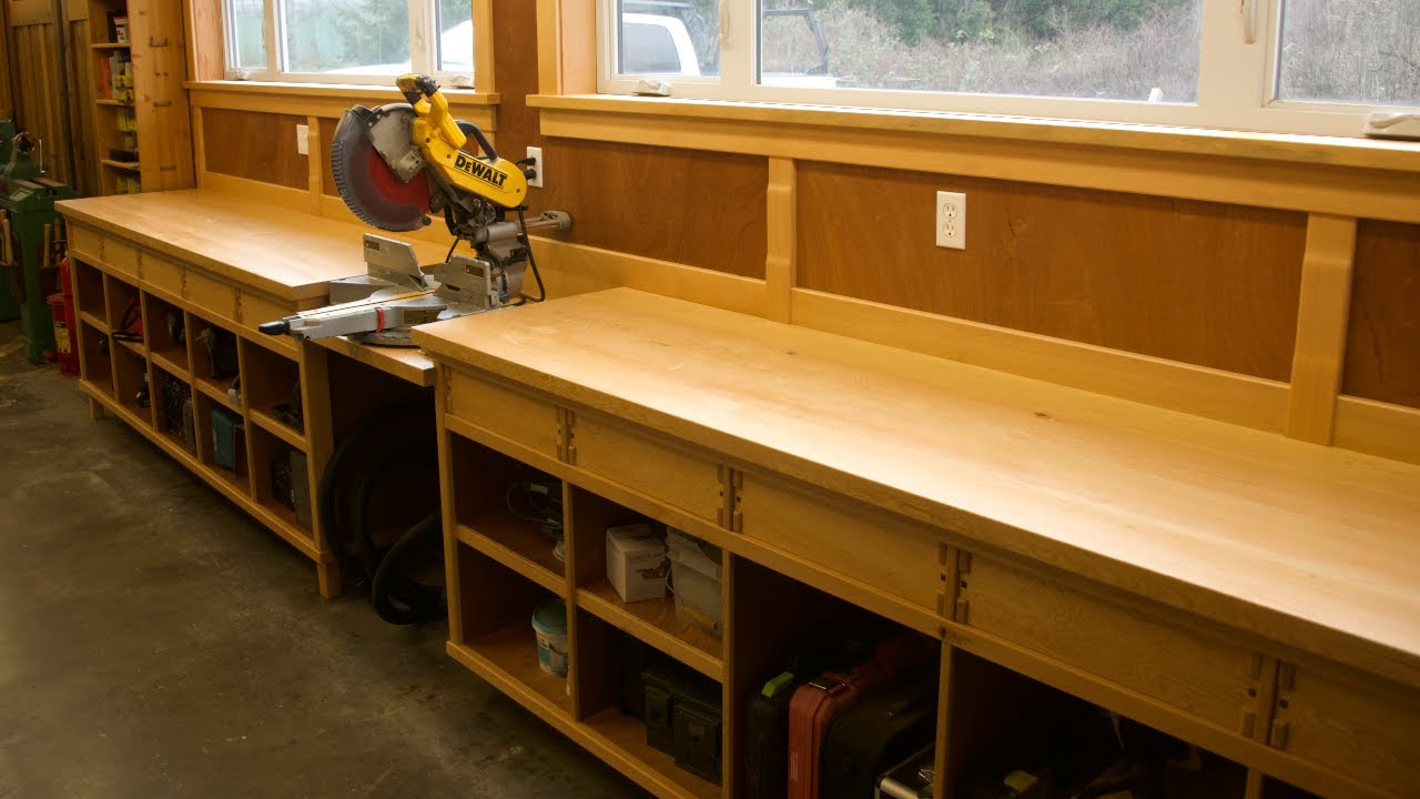 Huge Miter Saw Station Upgrade!!!