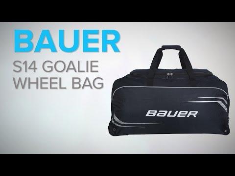 Bauer S14 Goalie Wheel Bag