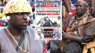 """Moussa Gningue : """"Boy Niang a dominé mystiquement Lac 2 au.."""" Revue de presse Lutte TV du 16 juillet"""